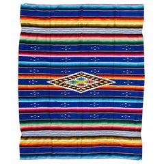 Wonderful Vintage South American Weaving Kilim