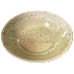Wonderfully Made Hand Thrown Glazed, Signed Ceramic Bowl