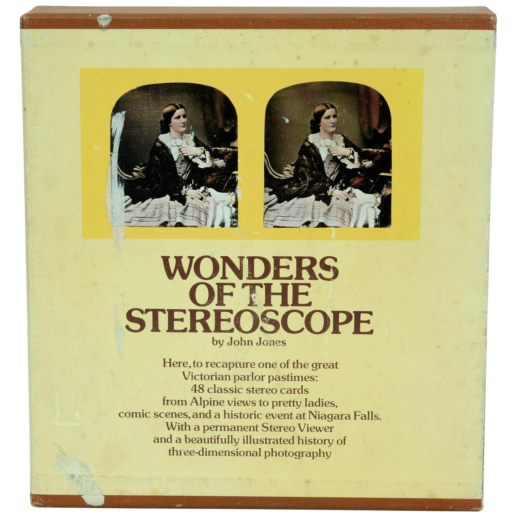 Wonders of the Stereoscope, by John Jones, 1st Edition