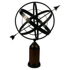 Wood and Metal Armillary