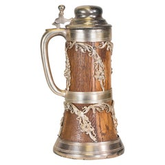 Wood and Silver Stein
