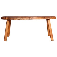 Wood Bench or Low Table