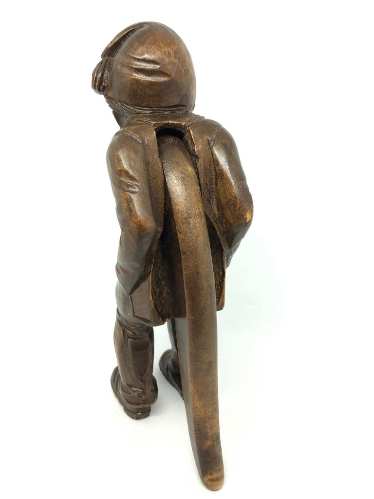 Wood Black Forest Brienz Carved Figural Nutcracker German Antique, 1900s 3