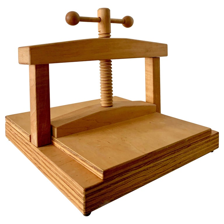 Wood Book Press For Sale At 1stdibs