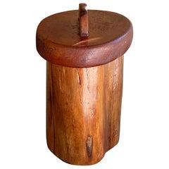Wood Box for Desk or Cigars, France, 1950