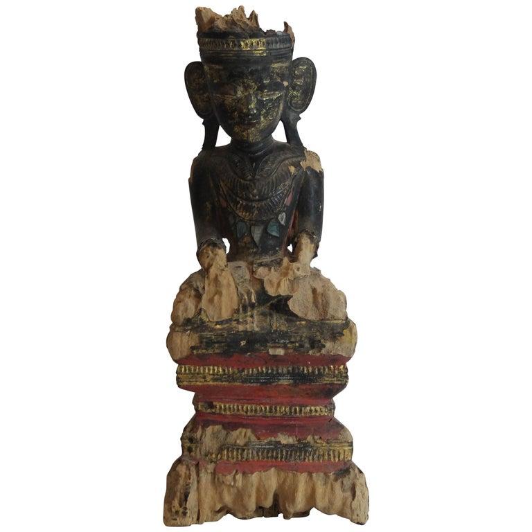 Wood Buddha For Sale