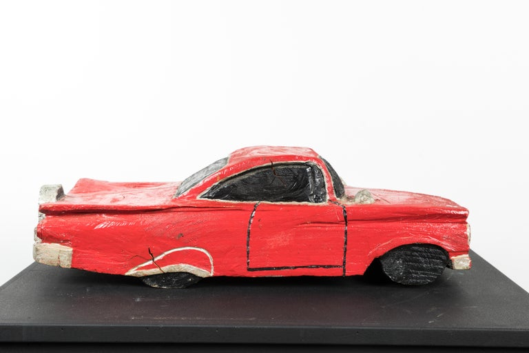 Wood Carved American Folk Art Muscle Car For Sale 4
