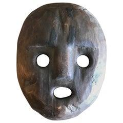 Wood Carved Folk Mask