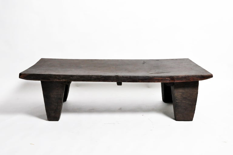 20th Century Wood Carved Naga Tribe Day Bed For Sale