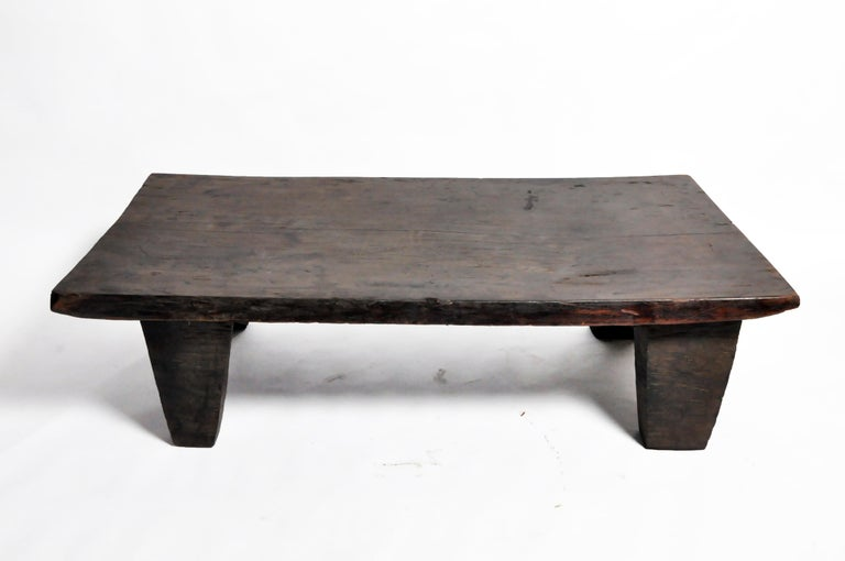 Wood Carved Naga Tribe Day Bed For Sale 1