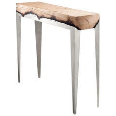 Wood Casting 'TM' Large Console, Cypress