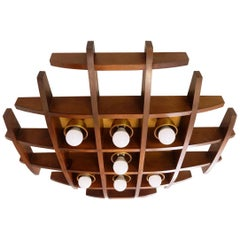 Wood Ceiling/Wall Light