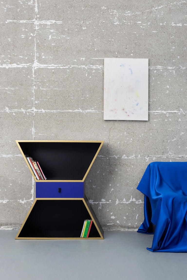 Wood Contemporary Apollon Cabinet by Chapel Petrassi In New Condition For Sale In Geneve, CH