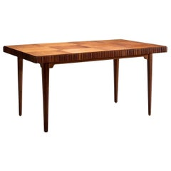 Wood Dining Table by Carl Axel Acking for Bodafors, circa 1940s-1950s