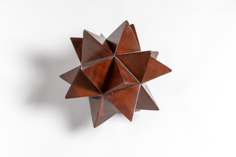 Mid-Century Modern Wood Geometric