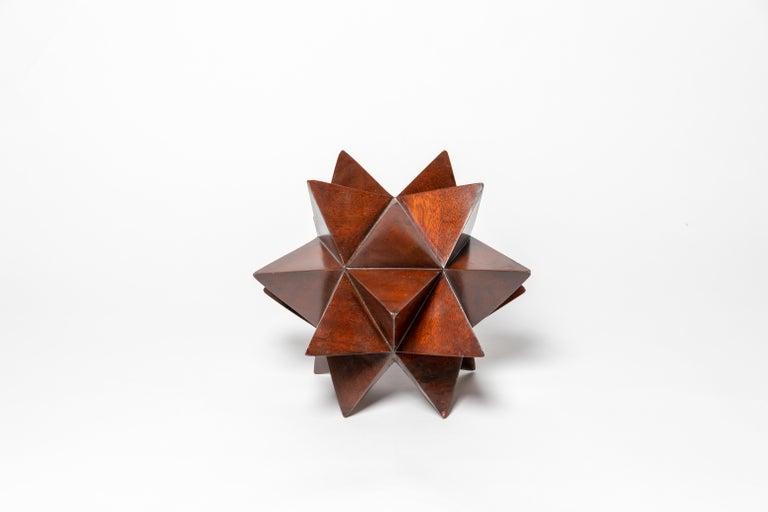 20th Century Wood Geometric