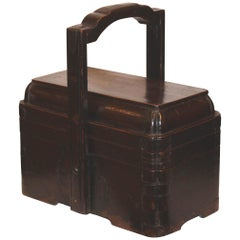 Wood Lunch Box