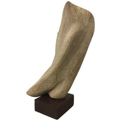 Wood Modern Freeform Sculpture