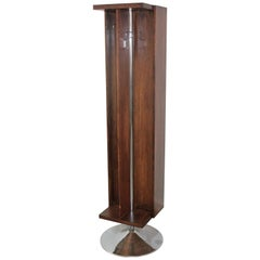 Wood Modernist Italian Coat Rack Isa Bergamo, 1970s