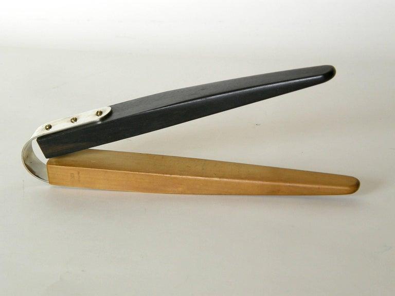 Mid-Century Modern Wood Nutcracker Designed by Carl Auböck III For Sale