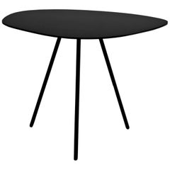 Wood Outdoor Small Pebble Coffee Table by Kenneth Cobonpue