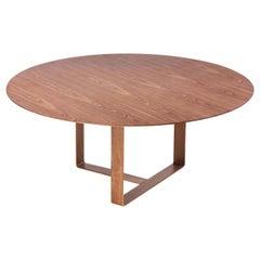 Wood Round Dining Table Akira