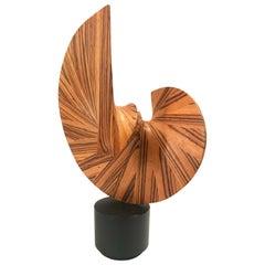 Wood Sculpture J B Veiner, 1989