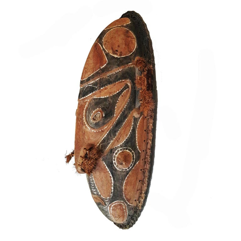 Tribal Wood Sepik Mask, Murik Lakes, Papua New Guinea For Sale