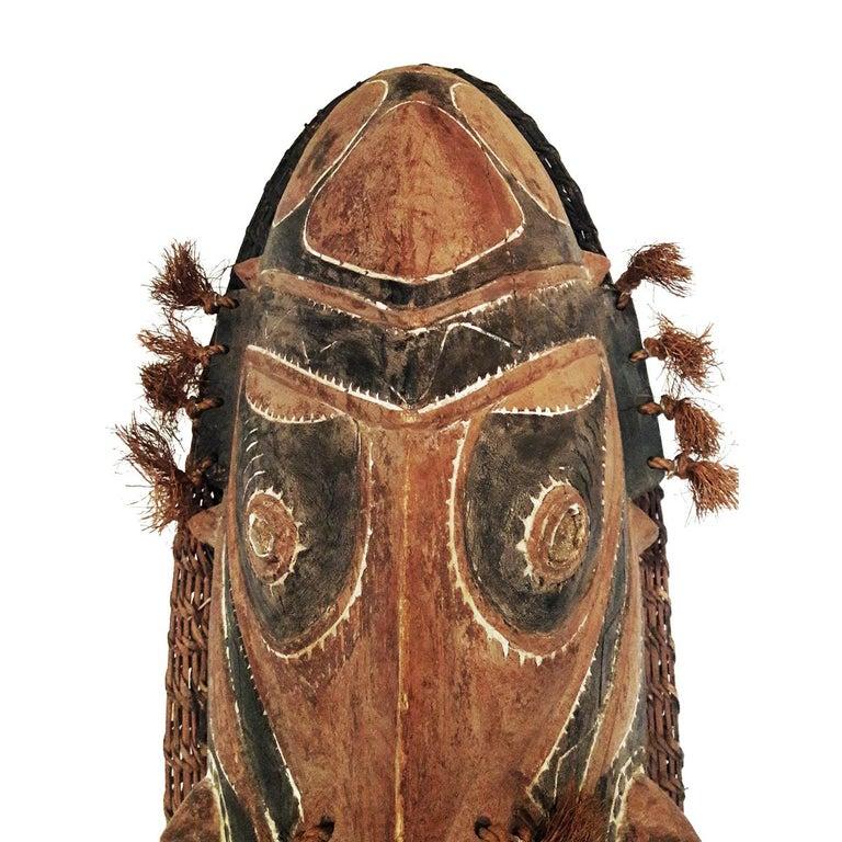Papua New Guinean Wood Sepik Mask, Murik Lakes, Papua New Guinea For Sale
