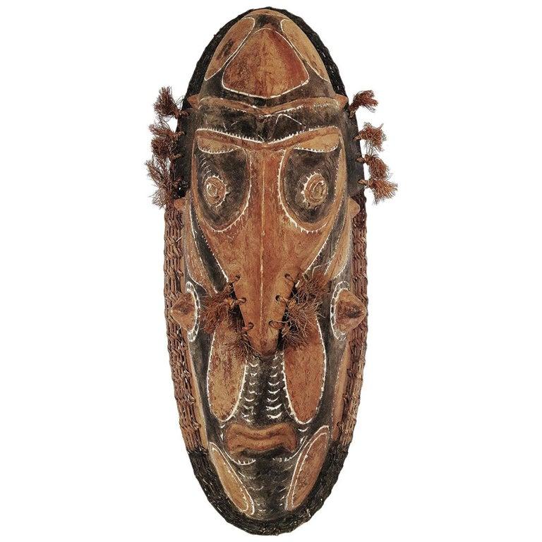Wood Sepik Mask, Murik Lakes, Papua New Guinea For Sale