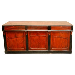 19th Century Wooden Shop Counter