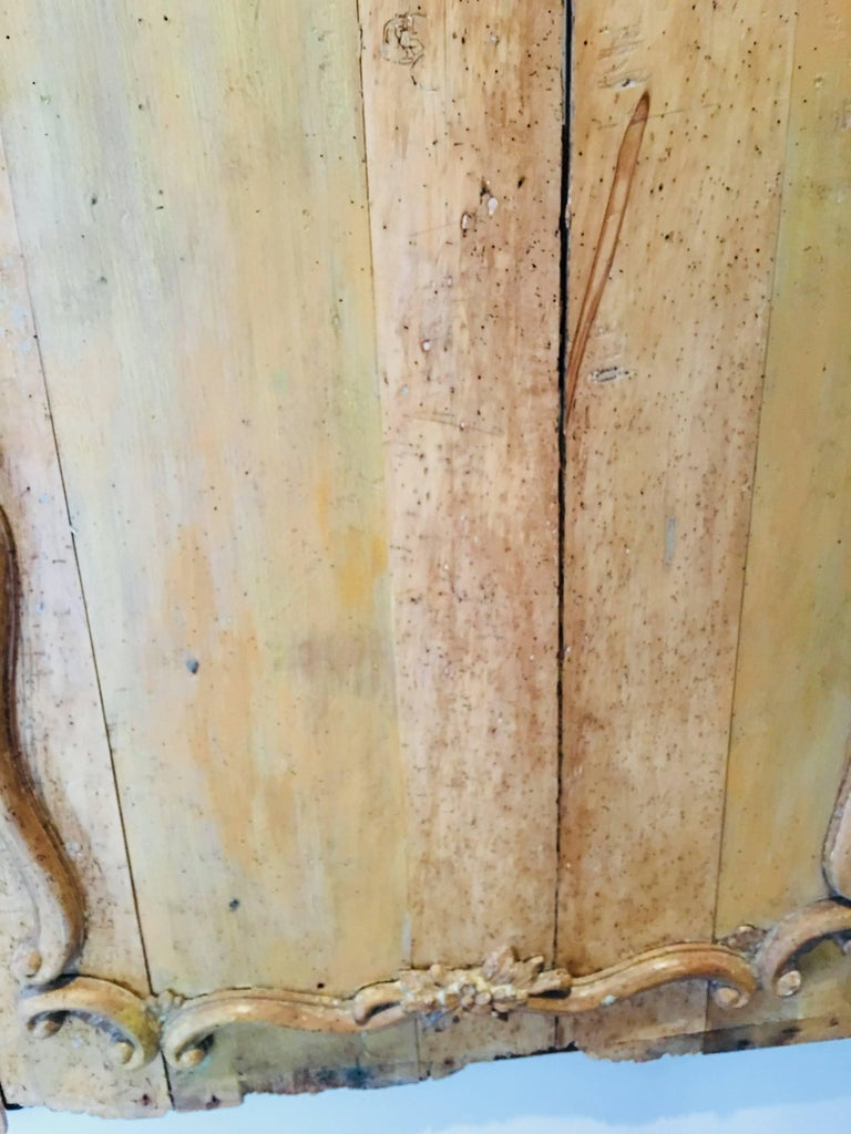 Carved Belgian 18th Century Wood Wall Panel For Sale 2
