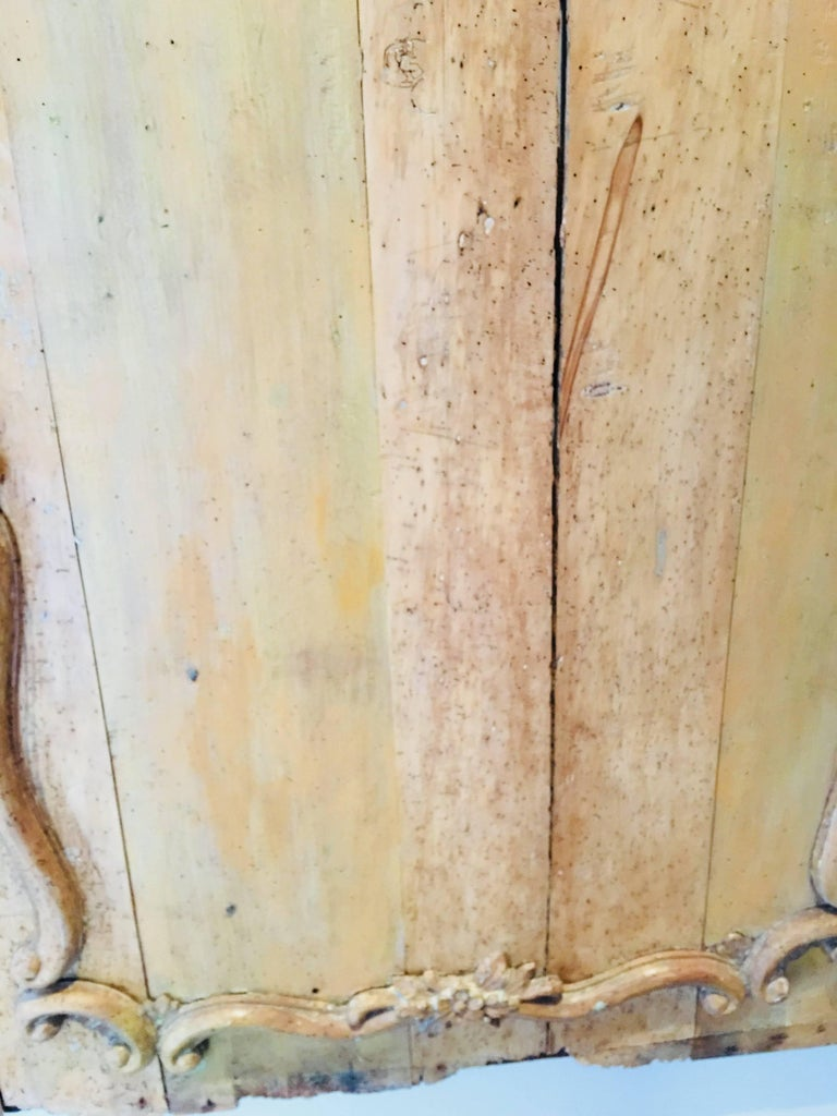 Carved Belgian 18th Century Wood Wall Panel For Sale 3