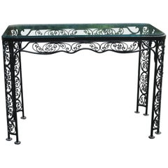Woodard Andalusian Pattern Console, Server Vintage Patio Furniture