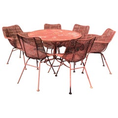 Woodard Sculptura 7 Piece Patio Set