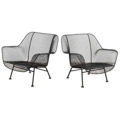Woodard Sculptura Garden Lounge Chairs