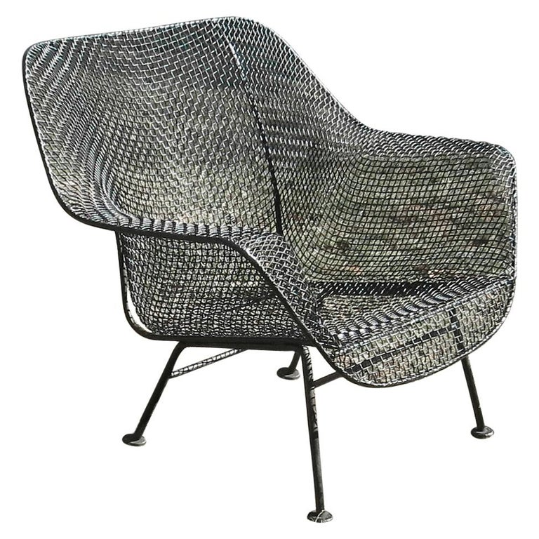 Woodard Sculptura Lounge Chair For Sale