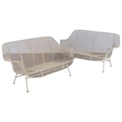 Woodard Sculptura Settees