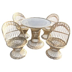 Woodard Spun Fiberglass Patio Set