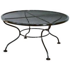 Woodard Wrought Iron Coffee or Occasional Table