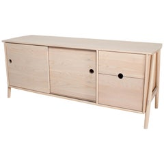 Woodbine Sideboard by Sun at Six, Nude, Midcentury Sideboard in Wood