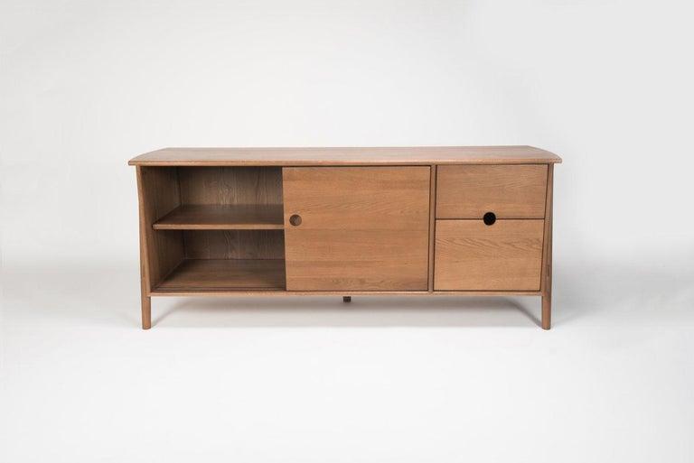 Joinery Woodbine Sideboard, Sienna, Midcentury Sideboard in Wood For Sale