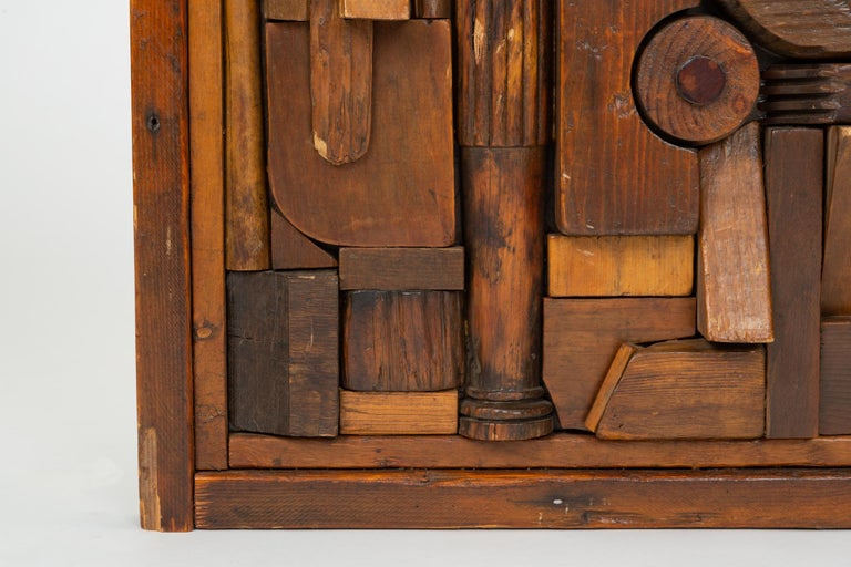 """Woodblock Assemblage """"Sonny"""" by Francis Schanz For Sale 1"""