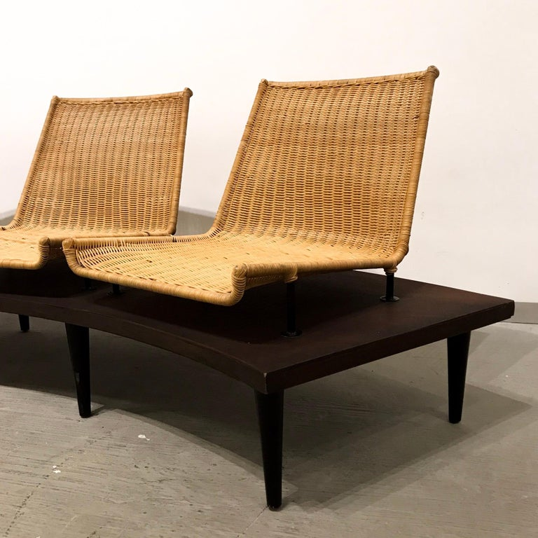 20th Century Wooden Bench For Sale