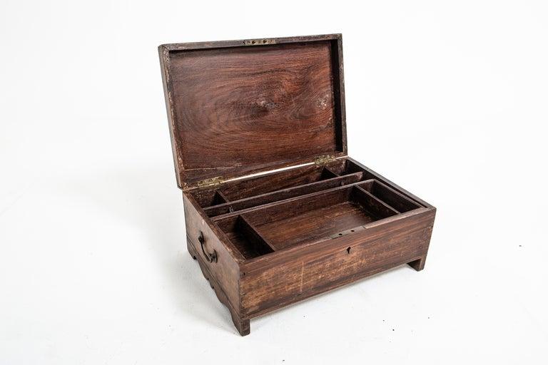 Teak Wooden Box For Sale