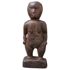 Wooden Carving of Female Figure from Sumba Island, Indonesia, circa 1960s