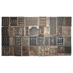 Wooden Cement Mold Wall Art