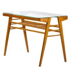 Wooden Coffee Table by František Jirák for Tatra Nabytok Pravenec, 1960s