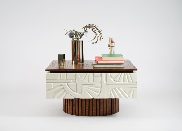 Modern Wooden Coffee Table from