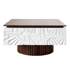 """Wooden Coffee Table from """"Normative collection"""""""